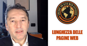 Come fare una pagina web: la lunghezza ideale