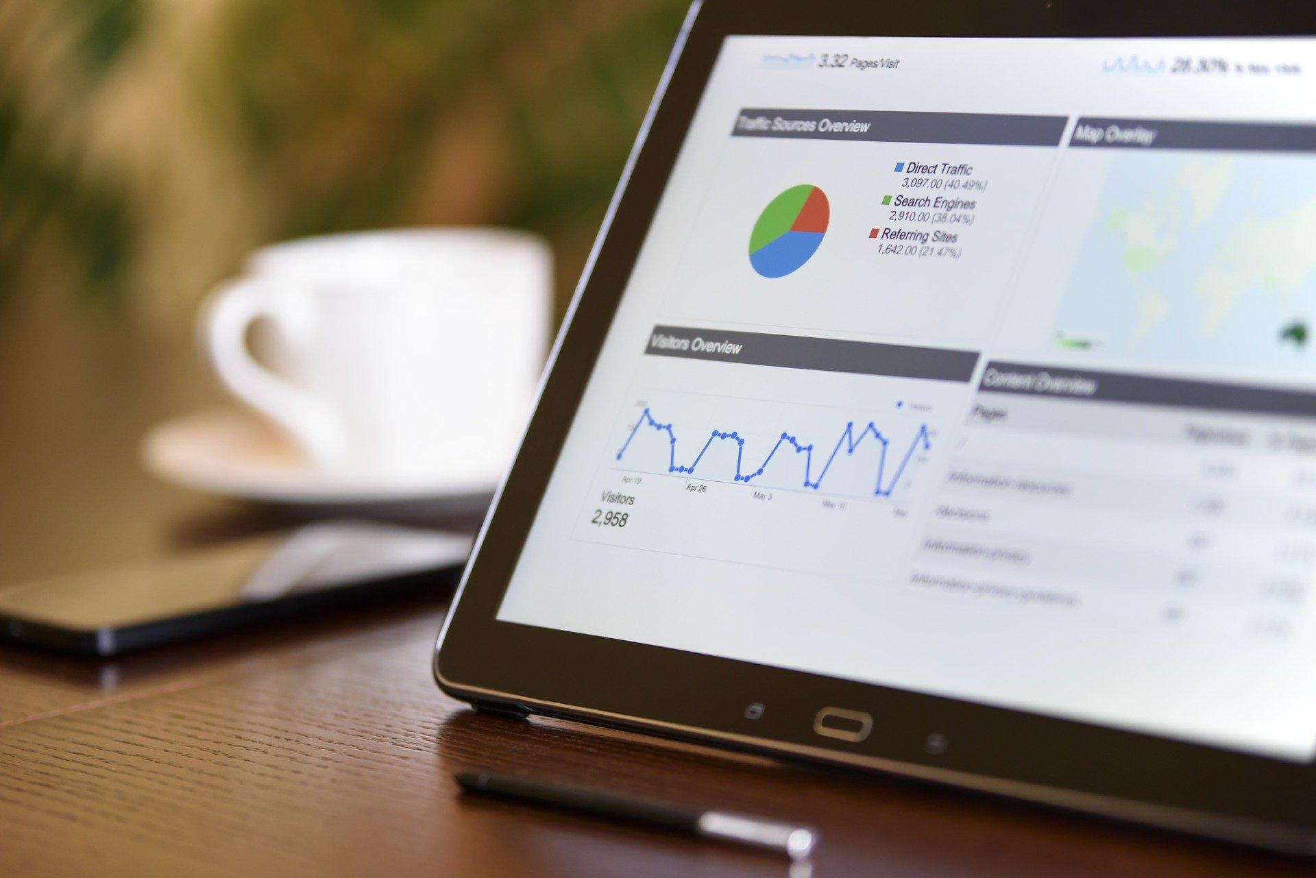 Statistiche sito web online